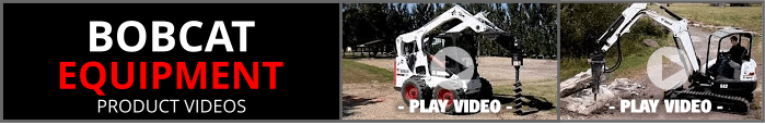 Bobcat Equipment Product Videos