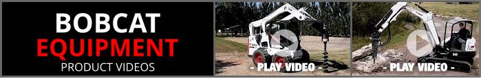 Bobcat Equipment Product Videos