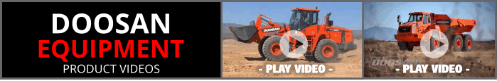 Doosan Equipment Product Videos