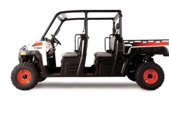 Bobcat 3400XL UTV side profile on a white background.