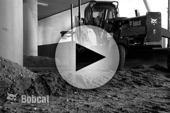 Bobcat Sonic Tracer and Cross Slope System