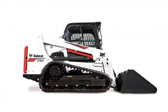 Bobcat T630 Compact Track Loader knock-out images.