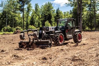 Soil Conditioner attachment on the V519.